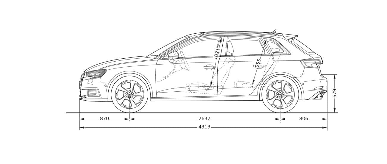 Sideview > Audi A3 Sportback > A3 > Audi configurator UK